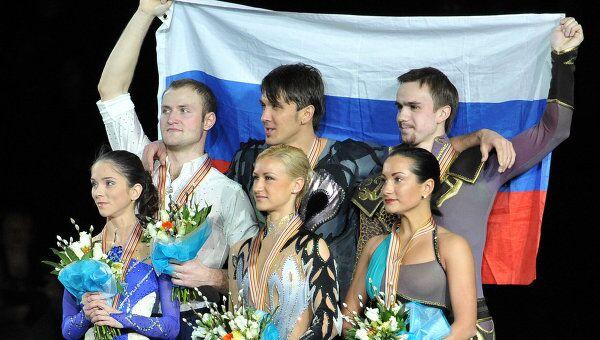 Медалисты чемпионата Европы по фигурному катанию