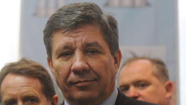 Руководитель Федерального космического агентства Владимир Поповкин. Архив