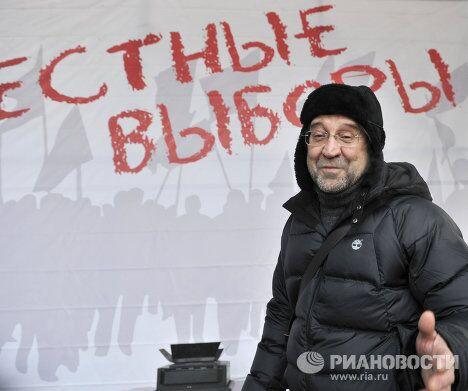 Подготовка к митингу За честные выборы на Болотной площади
