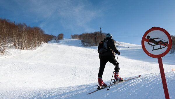 Соревнования по ски-альпинизму. Архивное фото