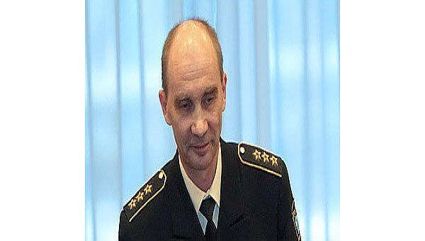 Главком ВМФ РФ адмирал Владимир Высоцкий. Архив