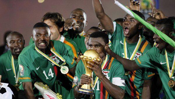 Сборная Замбии выиграла КАН-2012