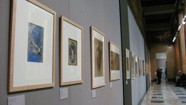 Экспонат выставки Французский рисунок в ГМИИ им. Пушкина