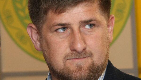 Президент Республики Чечня Рамзан Кадыров. Архив