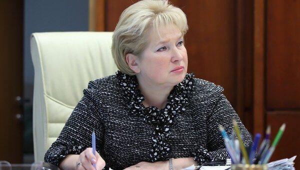 Министр образования Московской области Лидия Антонова