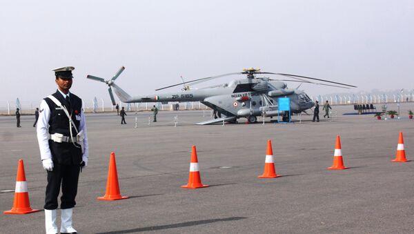 Российский вертолет в строю в индийских ВС. Архивное фото
