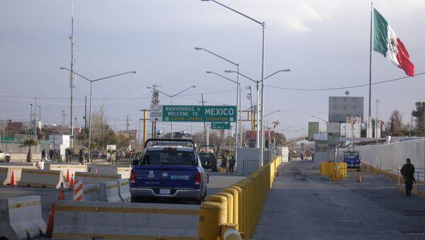 КПП на границе Мексики и США. Архивное фото