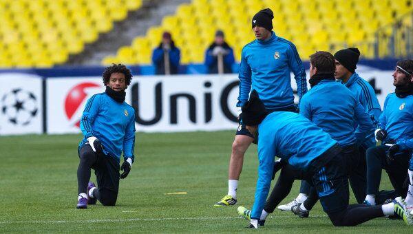 Тренировка ФК Реал