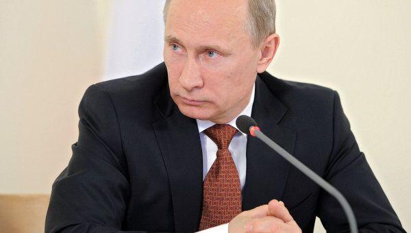 Председатель правительства России Владимир Путин. Архив