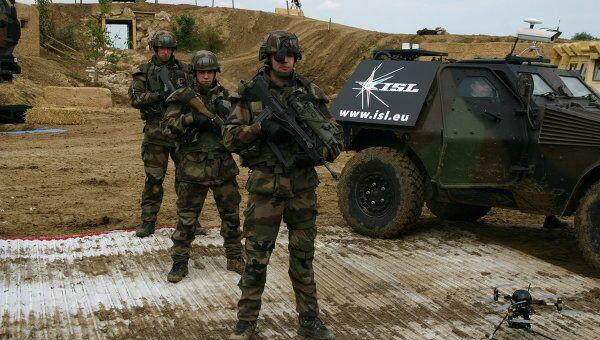 Французские солдаты. Архивное фото