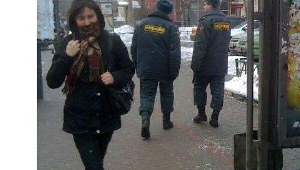 Белый круг митинг Москва репортер