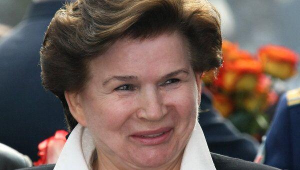 Терешкова стала лауреатом госпремии РФ за гуманитарную деятельность