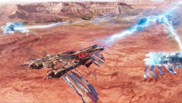 Война с Земли переносится на Марс. Трейлер фильма Джон Картер
