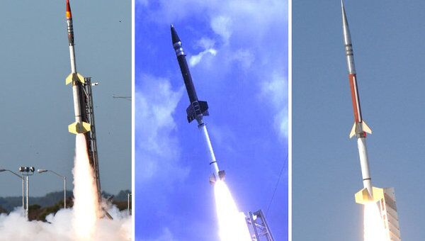 Геофизические ракеты, которые планируется использовать в проекте ATREX