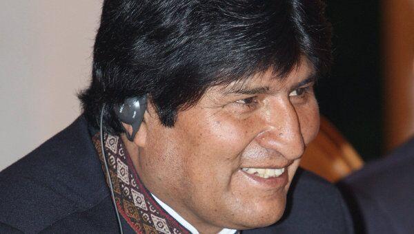 Моралес лидирует на выборах в Боливии после обработки 60% бюллетеней