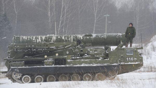 Пусковая установка зенитно-ракетного комплекса С-300В