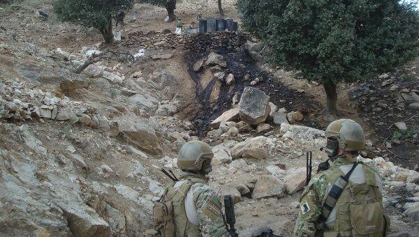 Первая в истории отношений России и США антинаркотическая операция на востоке Афганистана. Архив