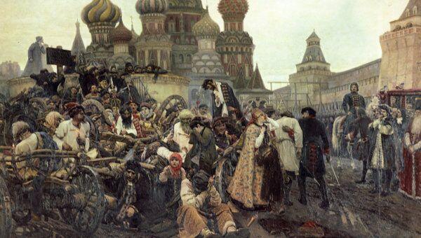 Картина Сурикова Утро стрелецкой казни