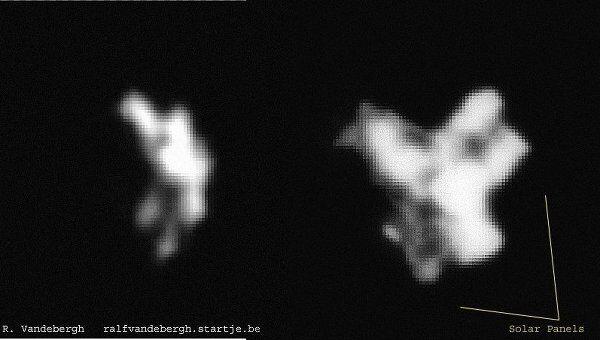 Снимок спутника Метеор-1, сделанный 20 марта 2012 года