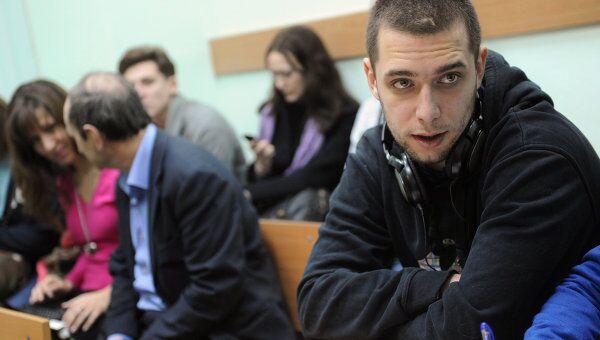 Заседание по делу журналиста Московских новостей П.Никулина