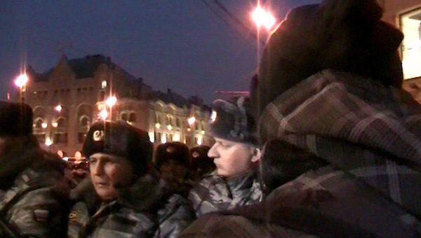 Видеозапись разговора журналиста МН с полицией перед задержанием