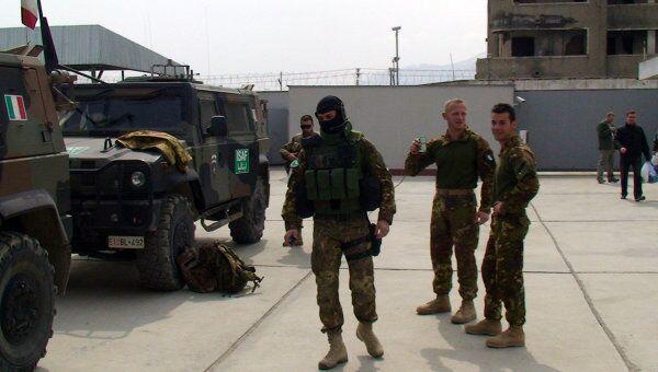 Военнослужащие ISAF. Архив