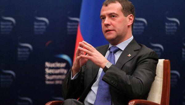 Президент РФ Д.Медведев в Сеуле