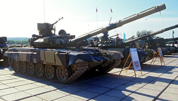 Танк Т-90С. Архив