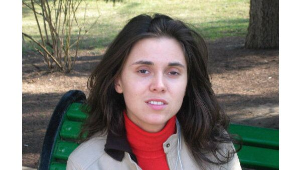 Журналистка Наталья Морарь