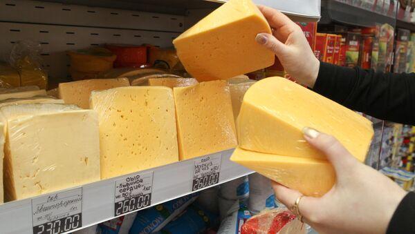 Продажа сыра. Архив