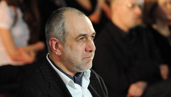 Михаил Миндлин на церемонии награждения лауреатов IV всероссийского конкурса Инновация–2008