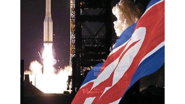 КНДР, запуск ракеты