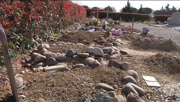 Тулузского стрелка похоронили. Кадры с места погребения