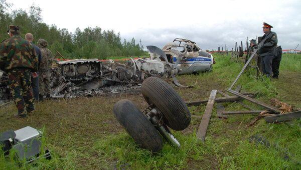 Ан-24 разбился в 150 метрах от посадочной полосы. Видео с места ЧП