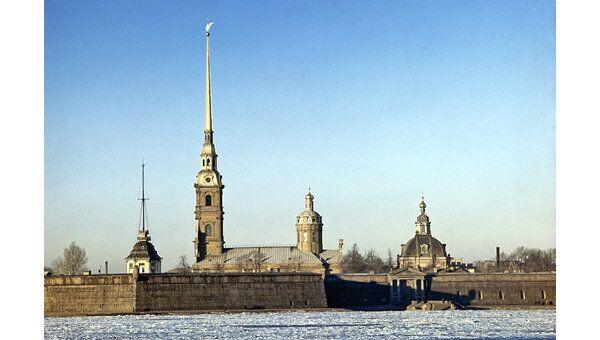 Петропавловская крепость Петербурга