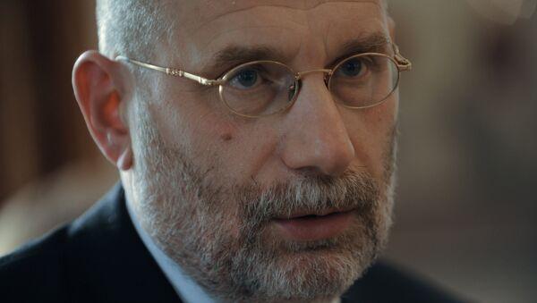 Писатель и переводчик Борис Акунин (Григорий Чхартишвили). Архивное фото