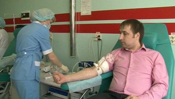 Сотни тюменцев пришли ночью сдать кровь для выживших в авиакатастрофе