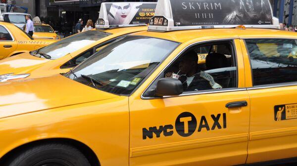 Нью-Йоркское такси. Архивное фото