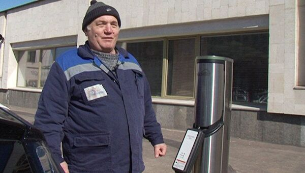 Первые электрозаправки в Москве, или Как зарядить машину от розетки