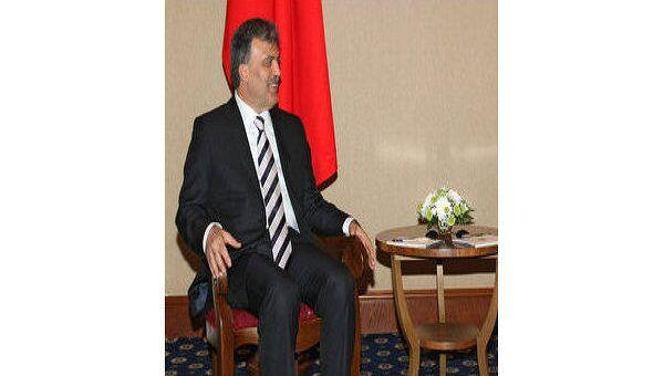 Президент Турции Абдуллах Гюль. Архив