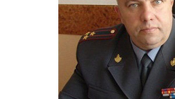Начальник ГИБДД по Рязанской области Александр Алфосов