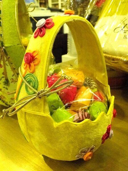 Цыплята, зайцы и цветы: пасхальные подарки в Лондоне