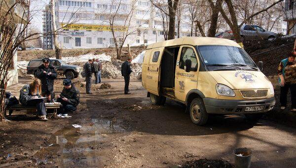 Нападение на инкассаторскую машину в Самаре