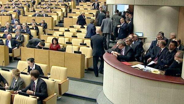 Эсеры ушли из зала заседаний ГД после ответа Путина о голодовке в Астрахани