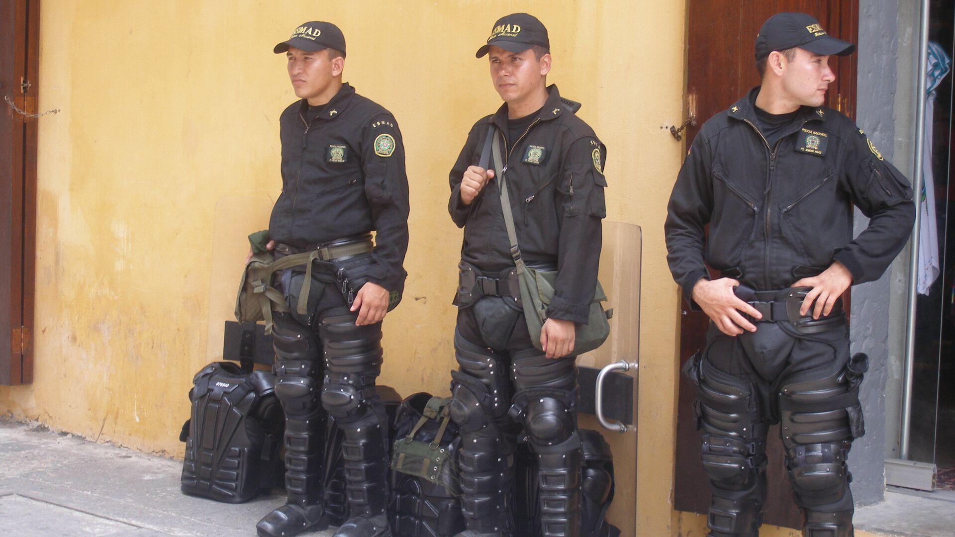 Полиция Колумбии - РИА Новости, 1920, 28.07.2020