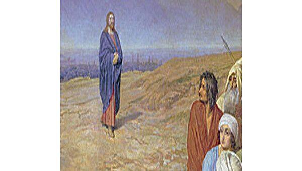 Иванов Александр Андреевич, Явление Христа народу (Явление Мессии). По мнению исследователей, фигура человека в красном, стоящего впоборота к Христу, изображает Гоголя.