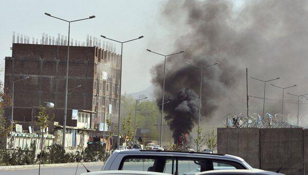 Взрыв у здания парламента в Кабуле