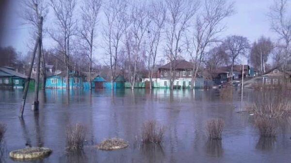 Паводок в Костромской области