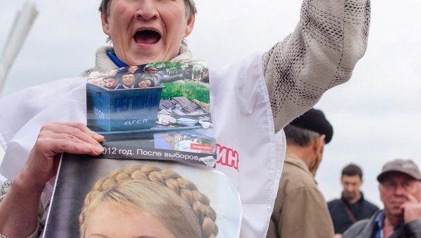 В харьковском суде началось заседание по делу Юлии Тимошенко