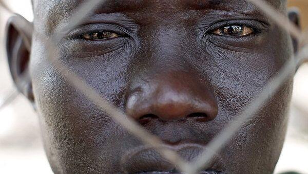 Житель Судана